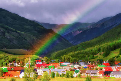 Photograph - Rainbow's End by Rick Furmanek