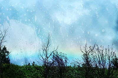 Photograph - Rainbows Everywhere - Spring Rainbows by Marie Jamieson