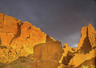 Photograph - Rainbows Pueblos And Thunderstorms by Kunal Mehra