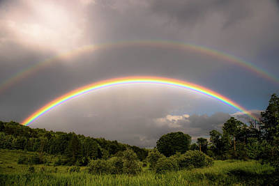 Photograph - Rainbows Two by Sherman Perry