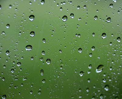 Photograph - Raindrops  2 by Charles Bacon Jr