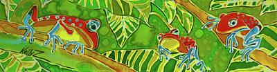 Rainforest Buds Art Print by Kelly     ZumBerge
