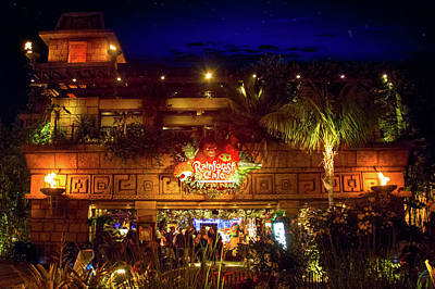 Photograph - Rainforest Cafe by Mark Andrew Thomas