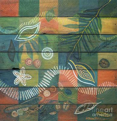 Mixed Media - Rainforest Regeneration  by Kerryn Madsen-Pietsch