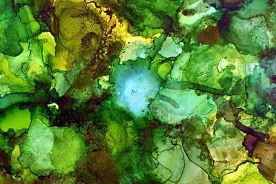 Painting - Rainforest Sky II by Laini Eckardt