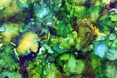 Painting - Rainforest Sky by Laini Eckardt