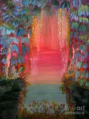 1 Painting - Rainforest by Stephanie Zelaya