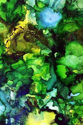 Painting - Rainforest Symphony by Laini Eckardt