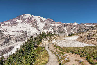Photograph - Rainier Beauty by John M Bailey
