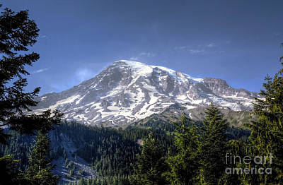 Photograph - Rainier's Other Face by Chris Anderson