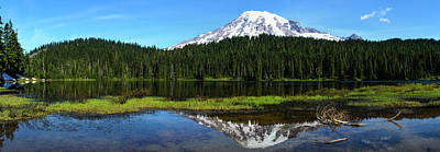 Photograph - Rainiers Reflection by Tikvah's Hope