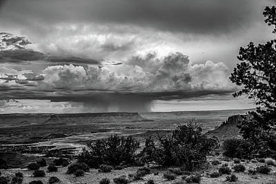 Mountain Landscape - Rainmaker - Storms Over Canyonlands in Utah by Southern Plains Photography