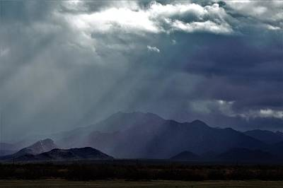 Photograph - Rainrays by David S Reynolds