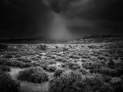 Photograph - Rains Of The Desert by John De Bord