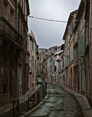 Photograph - Rainy Arles by Ron Dubin