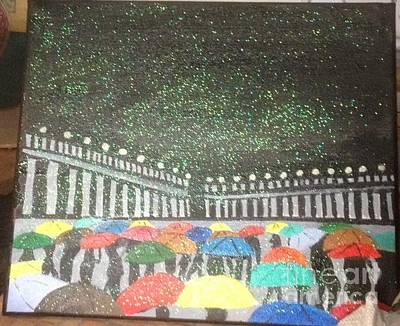 Painting - Rainy Day by Audrey Pollitt