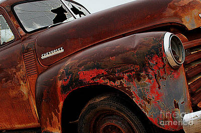 Photograph - Rainy Day Chevrolet 2 by Anjanette Douglas