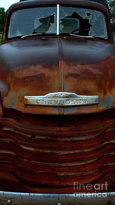 Photograph - Rainy Day Chevrolet 3 by Anjanette Douglas