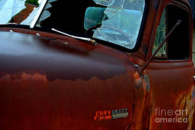 Photograph - Rainy Day Chevrolet 4 by Anjanette Douglas