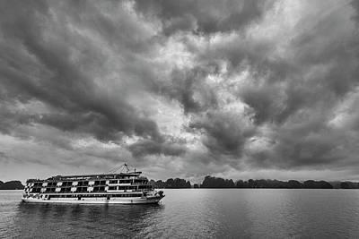 Photograph - Rainy Day Cruise by Hitendra SINKAR