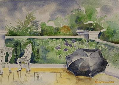 Painting - Rainy Day by Geeta Biswas