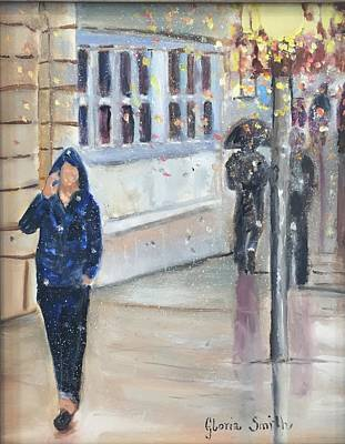 Painting - Rainy Day by Gloria Smith