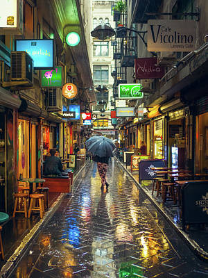Australia Photograph - Rainy Day In Bohemian Melbourne by James Jardine