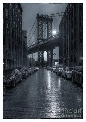 Rainy Day In Brooklyn Art Print by Marco Crupi