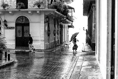 Photograph - Rainy Day In Casco Viejo by John Rizzuto
