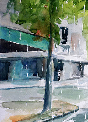 Painting - Rainy Day In Saigon by Tom Simmons
