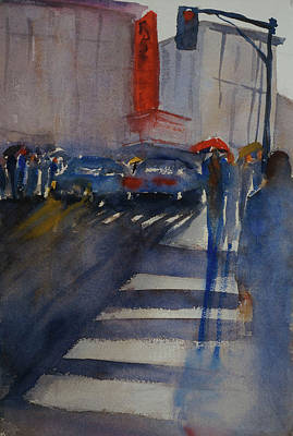 Painting - Rainy Day In San Rafael by Tom Simmons