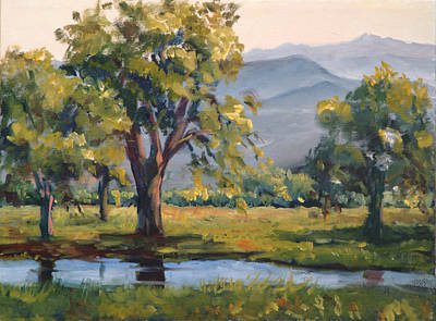 Painting - Rainy Day In Tucson II by Ingrid Dohm
