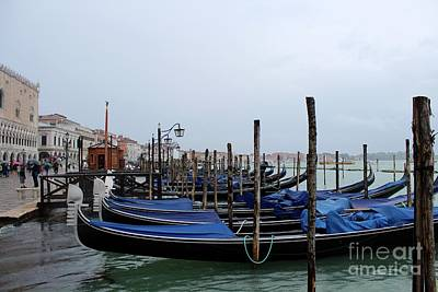 Photograph - Rainy Day In Venice by Irina Hays