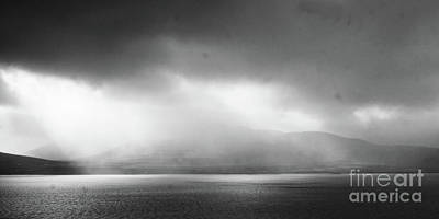 Photograph - rainy day in western Iceland 1 by Rudi Prott