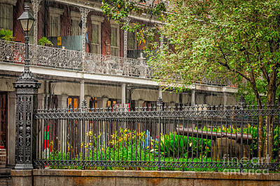 Photograph - Rainy Day Jackson Square-nola by Kathleen K Parker