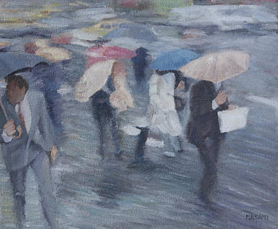 Painting - Rainy Day by Masami Iida