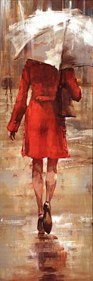 Rainy Painting - Rainy Day by Matthew Myles