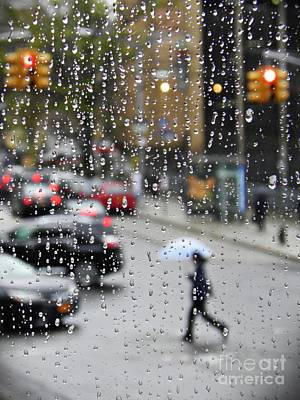 Photograph - Rainy Day Nyc 3  by Sarah Loft