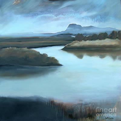 Rainy Day On Padilla Bay Original by Eve McCauley