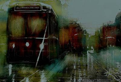 Photograph - Rainy Day On The Ttc by Jim Vance