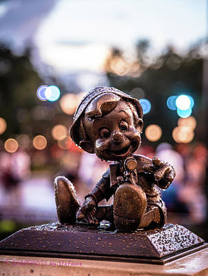 Photograph - Rainy Day Pinocchio  by Stefanie Silva