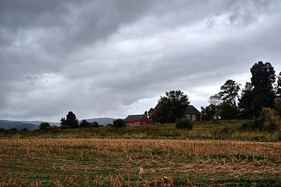 Photograph - Rainy Day Scenic - Egremont - The Berkshires by Geoffrey Coelho