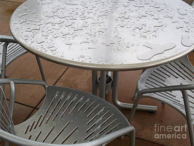 Curated Beach Towels - Rainy Day Seating by Ann Horn