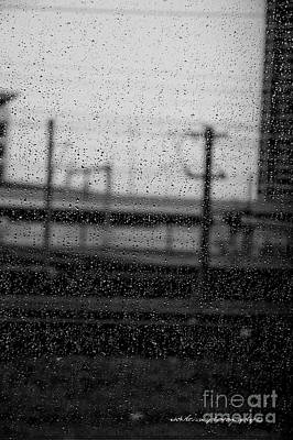 Photograph - Rainy Day Train by Vicki Ferrari