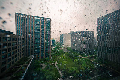 Photograph - Rainy Day View by Nisah Cheatham