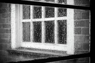 Photograph - Rainy Day Window by Deborah Ann Stott