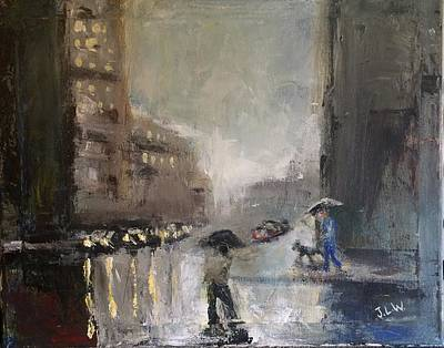 Painting - Rainy Days 2 by Justin Lee Williams