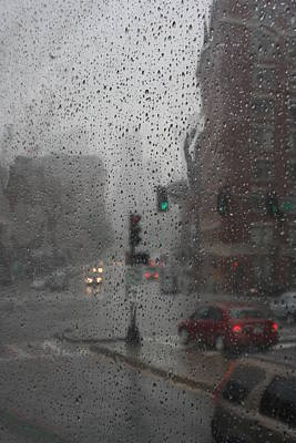 Photograph - Rainy Days In Boston by Julie Lueders