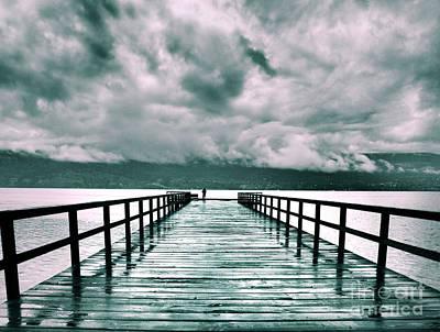 Photograph - Rainy Days In Summerland 2 by Tara Turner