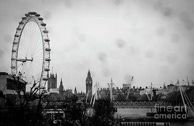 Photograph - Rainy London by Marina McLain